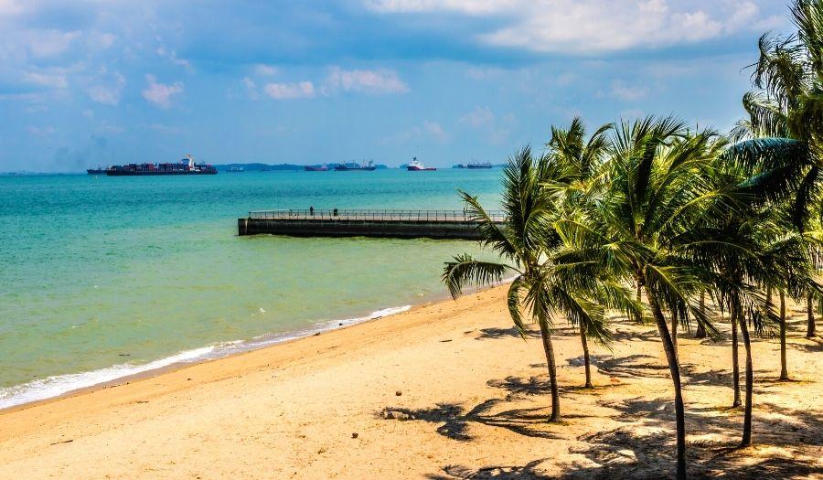 Pasir Ris Beach Singapore