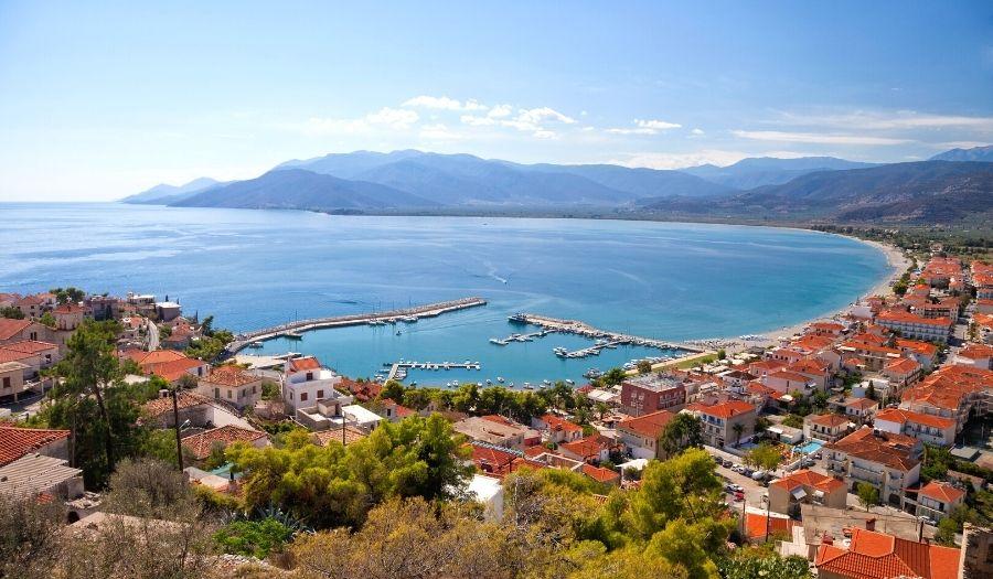 Peloponnese Circular Route Greece Cycling