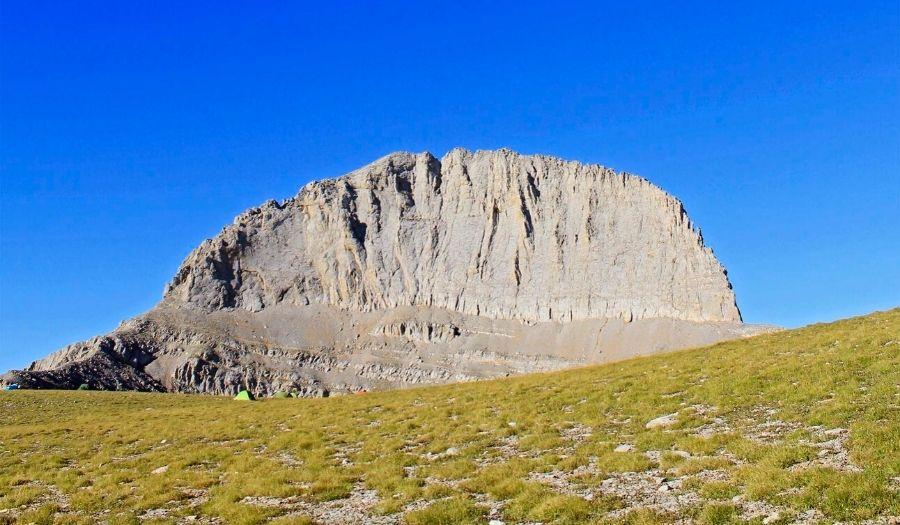 Plateau from Gortsia Trailhead Greece mnt Olympus