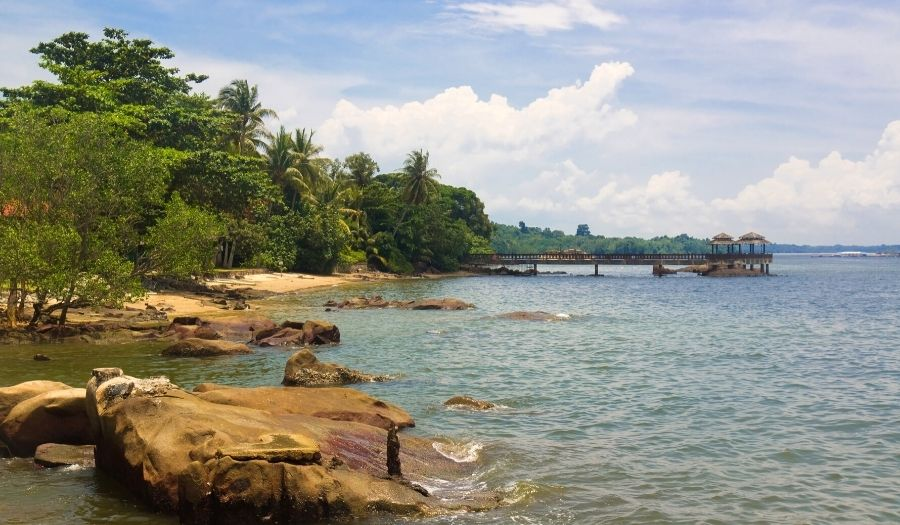 Pulau Ubin Beach Singapore