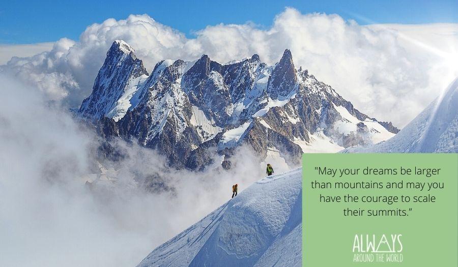 Quotes Mountain Climbing