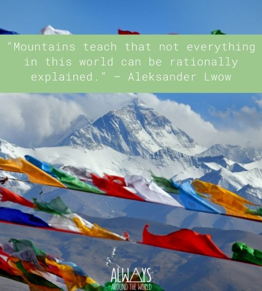 Quotes Mountain Inspiration
