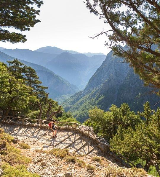 Samaria Gorge greece Cycling