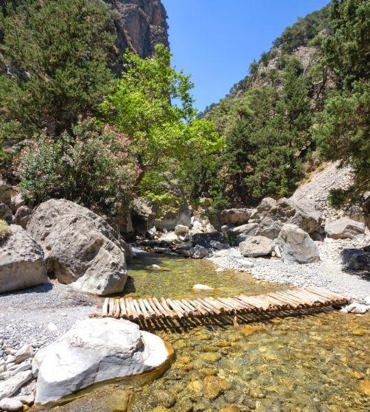 Samaria Gorge greece