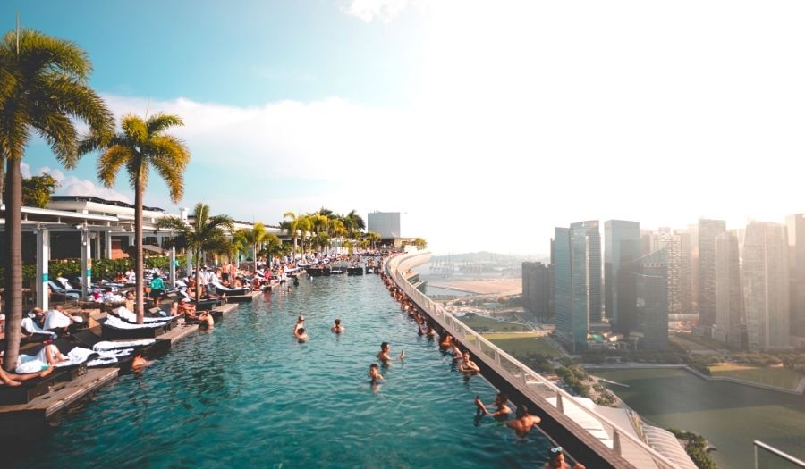 Fun things to do in Singapore - Singapore Infinity Pool