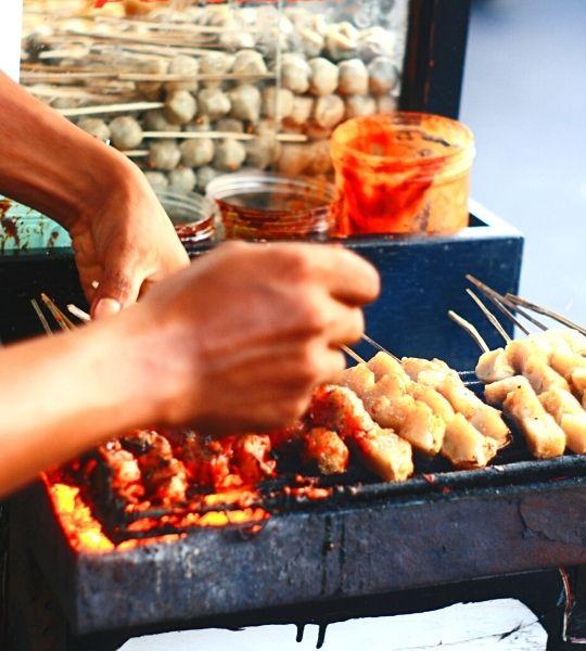 Singapore Street Food tasting