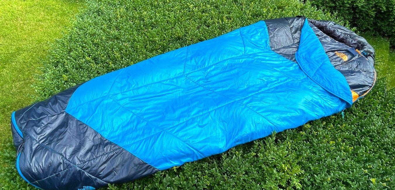 The North Face one Bag Sleeping bag header