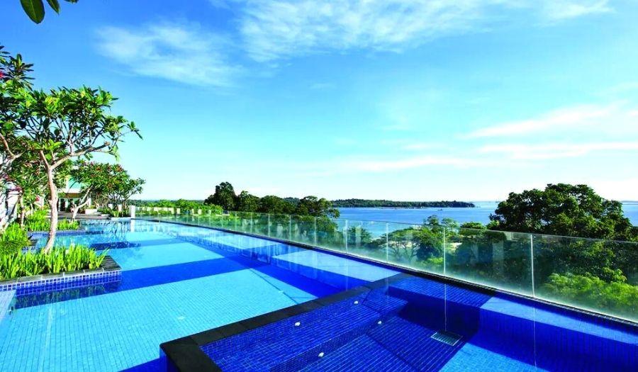 Village Hotel Changi Infinity pool Singapore