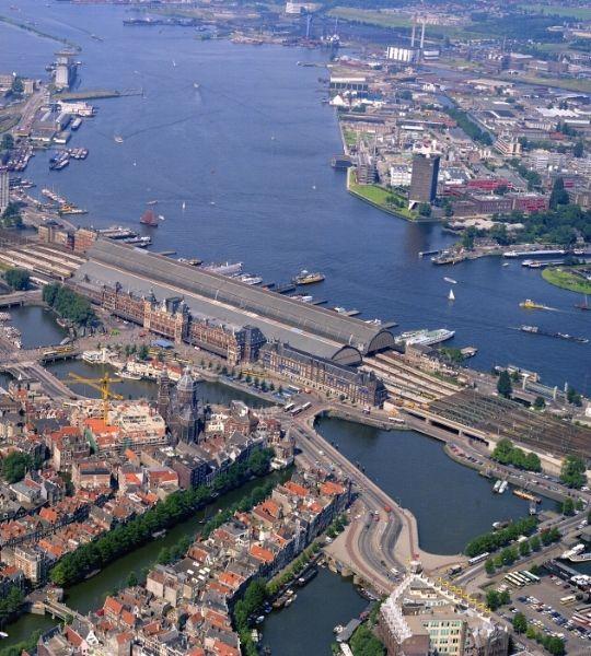 Walk Around The IJ Amsterdam