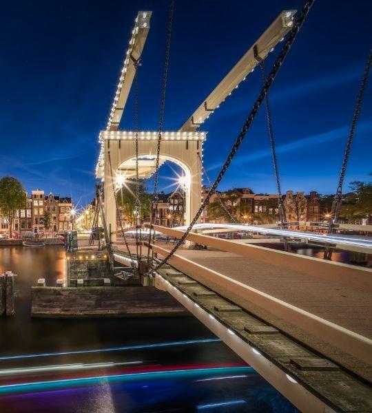 Walter Süskind Bridge Amsterdam Walk