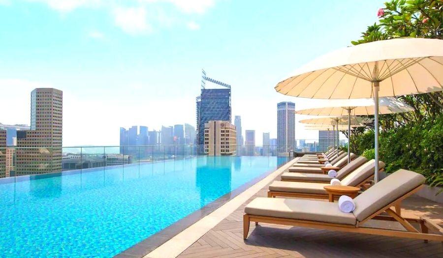 andaz hotel singapore swimming pool
