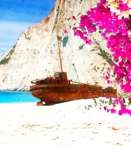 zakynthos Shipwreck hike Greece