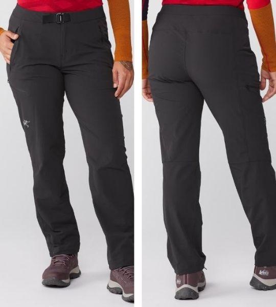 Arc'teryx Gamma LT Pants front back