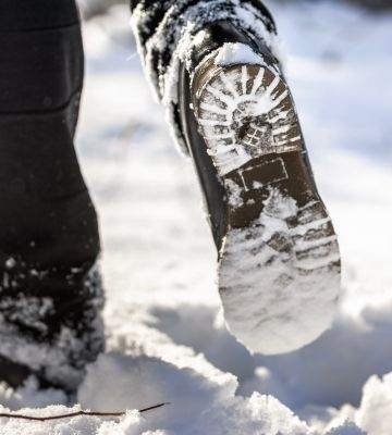 Hiking Boots Snow