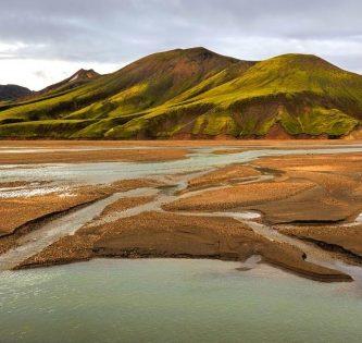 Laugavegur trail Iceland