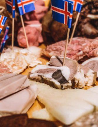 Vleesplaat IJslands Eten