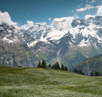 Murren Switzerland hiking